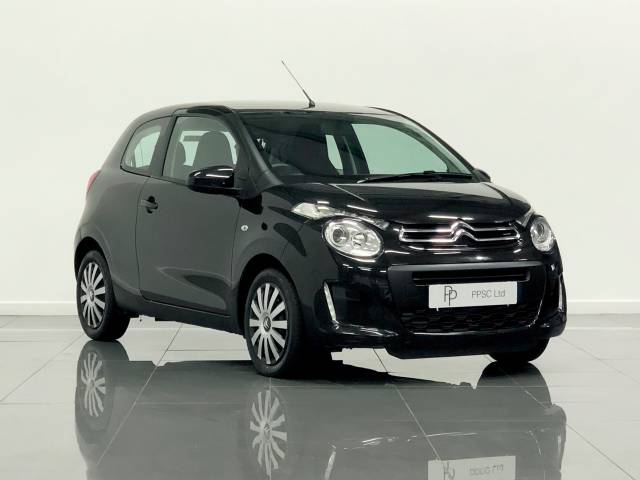 Citroen C1 1.2 PureTech Feel 3dr Hatchback Petrol Black at Phil Presswood Specialist Cars Brigg