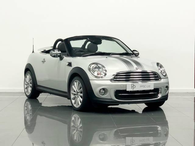Mini Roadster 1.6 Cooper 2dr Convertible Petrol Metallic Silver at Phil Presswood Specialist Cars Brigg