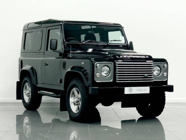 Land Rover Defender XS Station Wagon TDCi [2.2] Four Wheel Drive Diesel Black at Phil Presswood Specialist Cars Brigg