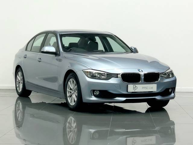BMW 3 Series 2.0 320d EfficientDynamics Business 4dr Saloon Diesel Metallic Silver Blue at Phil Presswood Specialist Cars Brigg