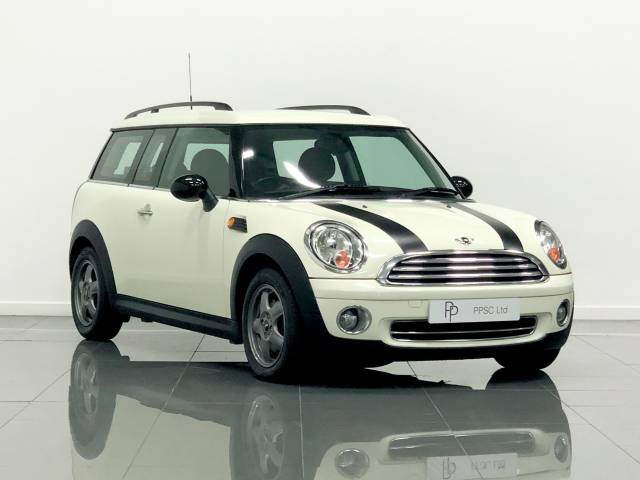 Mini Clubman 1.6 One 5dr Estate Petrol Pepper White at Phil Presswood Specialist Cars Brigg
