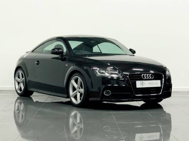 Audi TT 2.0T FSI S Line 2dr [2011] Coupe Petrol Black at Phil Presswood Specialist Cars Brigg