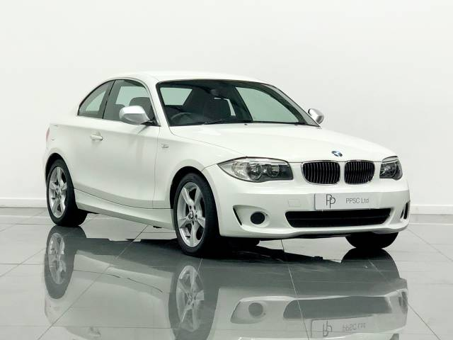 BMW 1 Series 2.0 118d Exclusive Edition 2dr Coupe Diesel Alpine White at Phil Presswood Specialist Cars Brigg