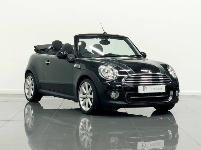 Mini Convertible 1.6 Cooper Highgate 2dr Convertible Petrol Metallic Black at Phil Presswood Specialist Cars Brigg