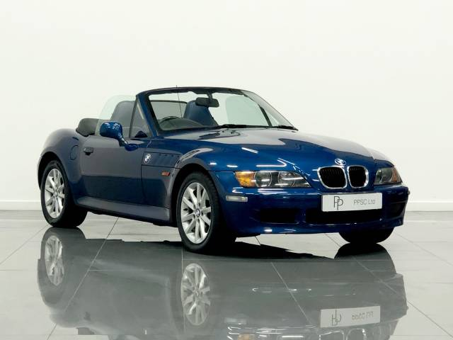 BMW Z3 1.9 Convertible Petrol Topaz Blue at Phil Presswood Specialist Cars Brigg