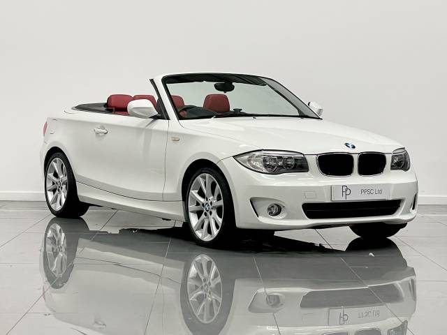 BMW 1 Series 2.0 118d Sport 2dr Convertible Convertible Diesel Alpine White at Phil Presswood Specialist Cars Brigg