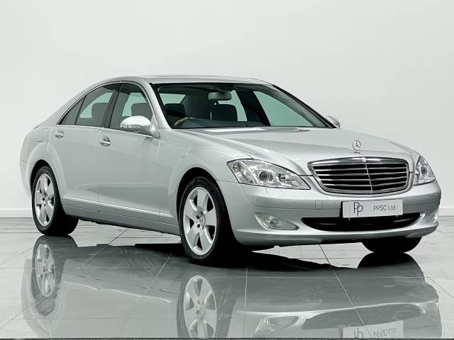 Mercedes-Benz S Class 3.0 S320 CDi 4dr Auto Saloon Diesel Iridium Metallic Silver at Phil Presswood Specialist Cars Brigg