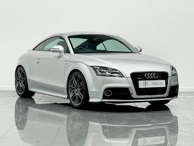 Audi TT 2.0T FSI Quattro S Line Special Ed 2dr S Tronic Coupe Petrol Metallic Silver at Phil Presswood Specialist Cars Brigg