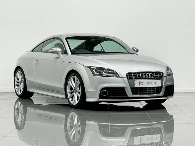 Audi TTS 2.0T FSI Quattro TTS 2dr S Tronic Coupe Petrol Silver at Phil Presswood Specialist Cars Brigg