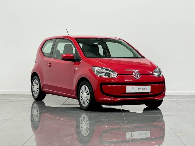 Volkswagen Up 1.0 BlueMotion Tech Move Up 3dr Hatchback Petrol Red at Phil Presswood Specialist Cars Brigg