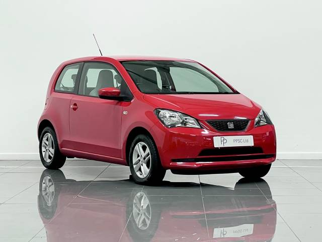 SEAT Mii 1.0 SE 3dr Hatchback Petrol Red at Phil Presswood Specialist Cars Brigg