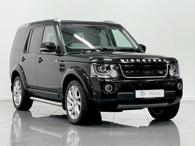 Land Rover Discovery 3.0 SDV6 Landmark 5dr Auto Estate Diesel Metallic Black at Phil Presswood Specialist Cars Brigg