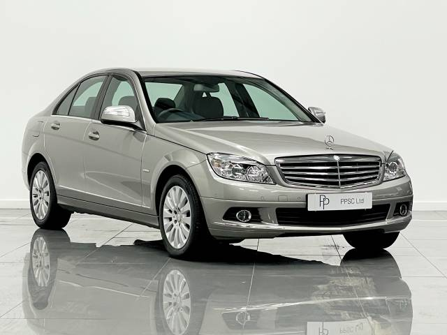 Mercedes-Benz C Class 1.8 C200K Elegance 4dr Auto Saloon Petrol Champagne Silver at Phil Presswood Specialist Cars Brigg