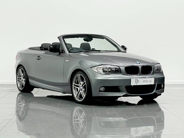 BMW 1 Series 2.0 118d Sport Plus Edition 2dr Convertible Diesel Space Grey at Phil Presswood Specialist Cars Brigg