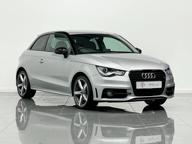 Audi A1 1.4 TFSI S Line Style Edition 3dr Hatchback Petrol Metallic Silver at Phil Presswood Specialist Cars Brigg
