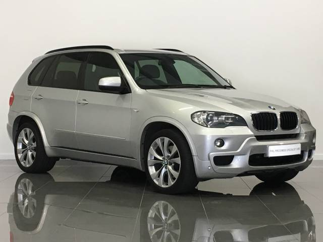 BMW X5 3.0d M Sport 5dr Auto Estate Diesel Titanium Silver at Phil Presswood Specialist Cars Brigg