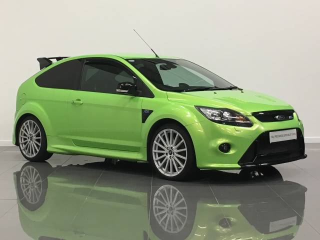 Ford Focus Rs 2.5 FOCUS RS Hatchback Petrol Ultimate Green