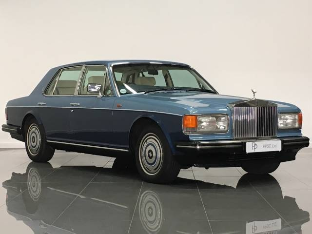 Rolls Royce Silver Spirit 6.8 I Saloon Petrol College Metallic Blue at Phil Presswood Specialist Cars Brigg
