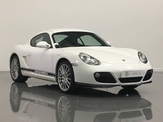 Porsche Cayman 2.9 2dr Coupe Petrol White at Phil Presswood Specialist Cars Brigg