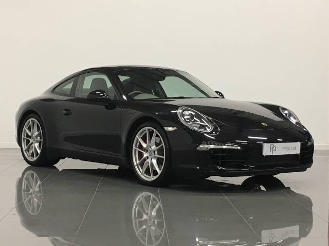 Porsche 911 3.8 Carrera S PDK Coupe Petrol Basalt Black at Phil Presswood Specialist Cars Brigg