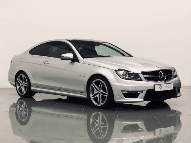 Mercedes-Benz C Class 6.2 C63 2dr Auto Coupe Petrol Silver at Phil Presswood Specialist Cars Brigg