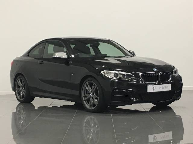 BMW 2 Series 3.0 M235i 2dr Step Auto Coupe Petrol Black Sapphire at Phil Presswood Specialist Cars Brigg