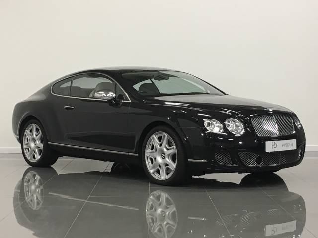 Bentley Continental GT 6.0 W12 2dr Auto Coupe Petrol Metallic Black at Phil Presswood Specialist Cars Brigg