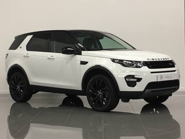 Land Rover Discovery Sport 2.0 TD4 180 HSE Black 5dr Auto Estate Diesel White at Phil Presswood Specialist Cars Brigg