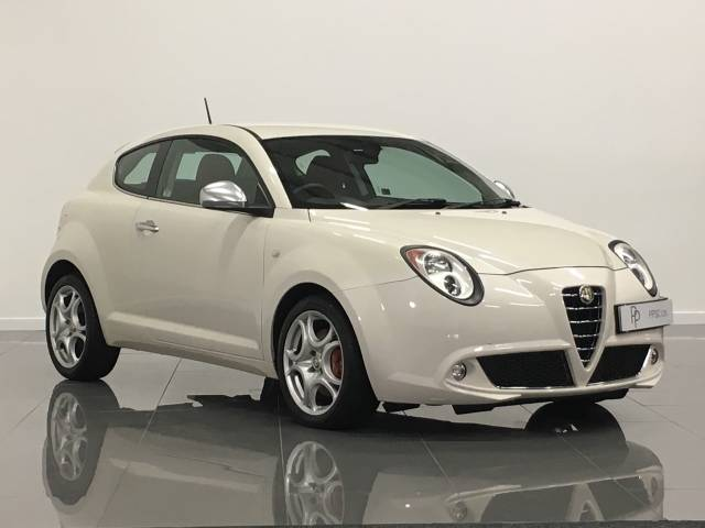 Alfa Romeo Mito 1.4 TB 155 Lusso 3dr Hatchback Petrol Biancospino White at Phil Presswood Specialist Cars Brigg