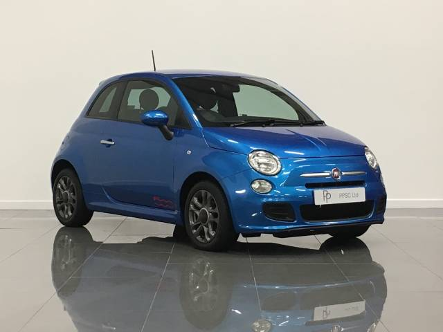 Fiat 500 1.2 S 3dr Hatchback Petrol Electronica Metallic Blue at Phil Presswood Specialist Cars Brigg