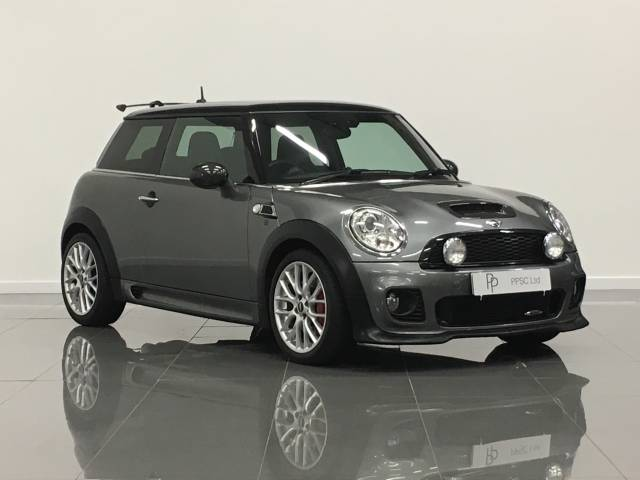 Mini Hatchback 1.6 John Cooper Works 3dr Hatchback Petrol Grey at Phil Presswood Specialist Cars Brigg