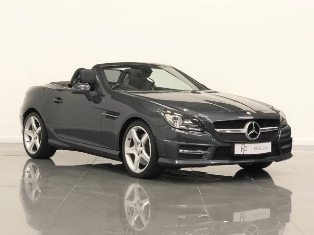 Mercedes-Benz SLK 2.1 SLK 250 CDI BlueEFFICIENCY AMG Sport 2dr Tip Auto Convertible Diesel Steel Grey at Phil Presswood Specialist Cars Brigg