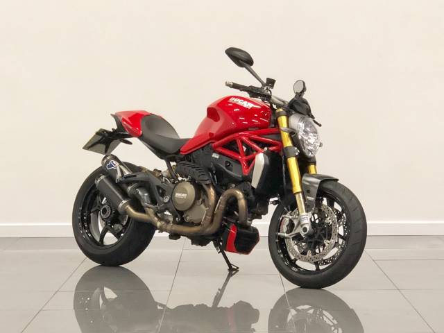 Ducati Monster 1200 M1200 S Super Sports Petrol Red at Phil Presswood Specialist Cars Brigg