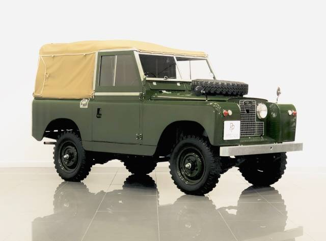 Land Rover Series II 2.0 88in Series ll Four Wheel Drive Petrol Bronze Green at Phil Presswood Specialist Cars Brigg