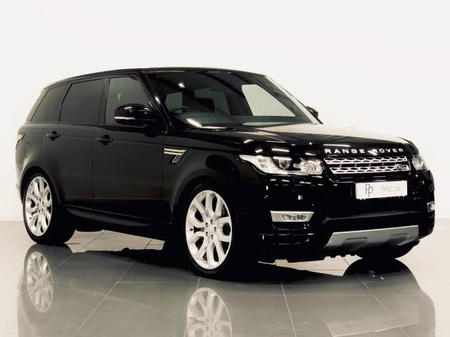 Land Rover Range Rover Sport 3.0 SDV6 [306] HSE 5dr Auto Estate Diesel Black at Phil Presswood Specialist Cars Brigg