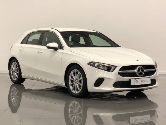 Mercedes-Benz A Class 1.5 A180d Sport Executive 5dr Auto Hatchback Diesel White at Phil Presswood Specialist Cars Brigg