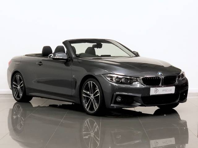 BMW 4 Series 3.0 430d M Sport 2dr Auto [Professional Media] Convertible Diesel Metallic Grey at Phil Presswood Specialist Cars Brigg