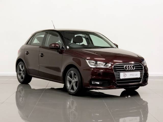 Audi A1 1.0 TFSI Sport 5dr Hatchback Petrol Shirazrot Metallic at Phil Presswood Specialist Cars Brigg