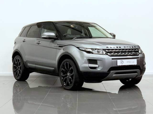 Land Rover Range Rover Evoque 2.2 SD4 Pure 5dr Auto [Tech Pack] Estate Diesel Grey at Phil Presswood Specialist Cars Brigg