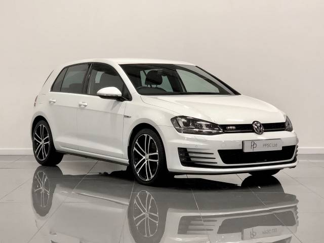 Volkswagen Golf 2.0 TDI GTD 5dr Hatchback Diesel White at Phil Presswood Specialist Cars Brigg