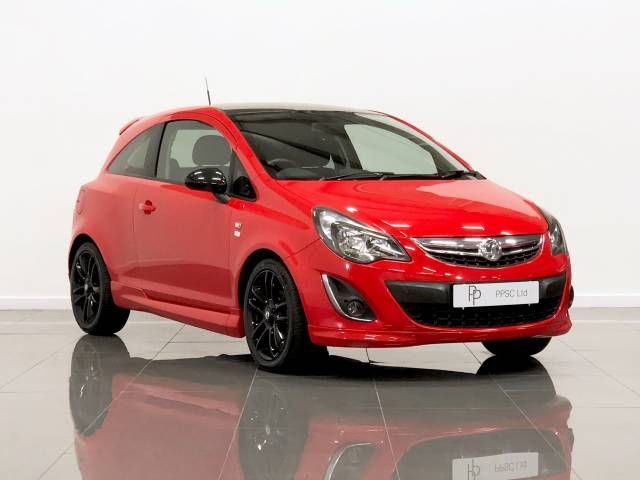 Vauxhall Corsa 1.3 CDTi ecoFLEX Limited Edition 3dr Hatchback Diesel Flame Red at Phil Presswood Specialist Cars Brigg