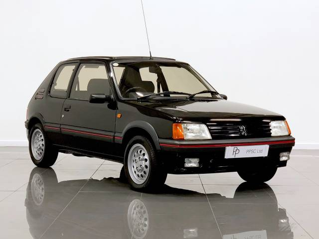Peugeot 205 1.6 GTi Hatchback Petrol Black at Phil Presswood Specialist Cars Brigg