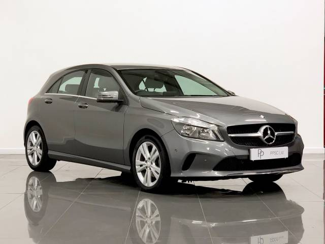 Mercedes-Benz A Class 1.5 A180d Sport Executive 5dr Hatchback Diesel Mountain Grey at Phil Presswood Specialist Cars Brigg