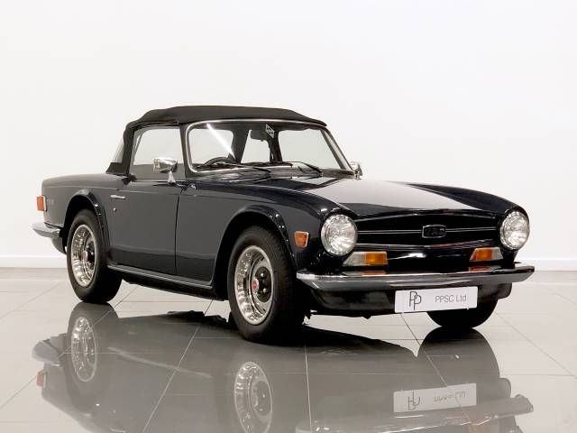Triumph TR6 2.5 TR6 Convertible Petrol Blue at Phil Presswood Specialist Cars Brigg