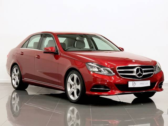 Mercedes-Benz E Class 2.1 E250 CDI SE 4dr 7G-Tronic Saloon Diesel Red at Phil Presswood Specialist Cars Brigg