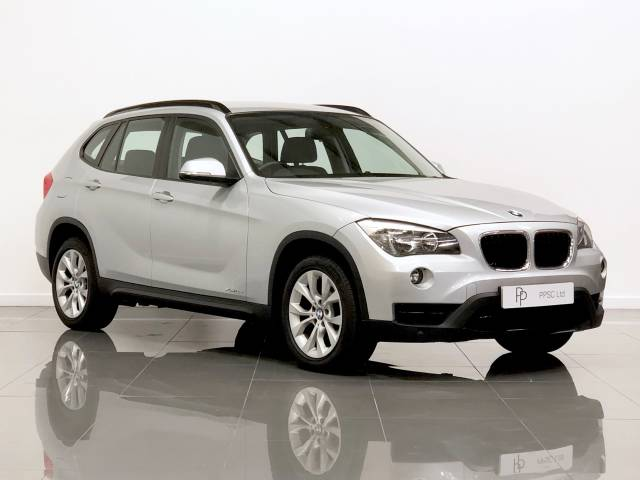 BMW X1 2.0 xDrive 18d Sport 5dr Step Auto Estate Diesel Silver at Phil Presswood Specialist Cars Brigg