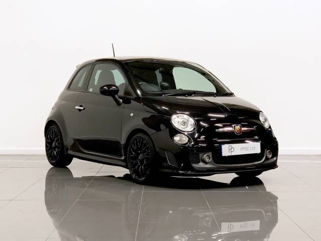 Abarth 595 1.4 T-Jet Turismo 3dr Auto Hatchback Petrol Black at Phil Presswood Specialist Cars Brigg