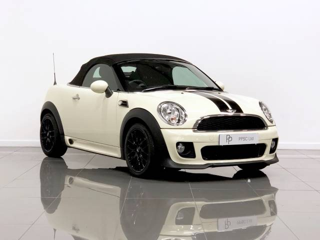 Mini Roadster 1.6 Cooper 2dr Convertible Petrol White at Phil Presswood Specialist Cars Brigg