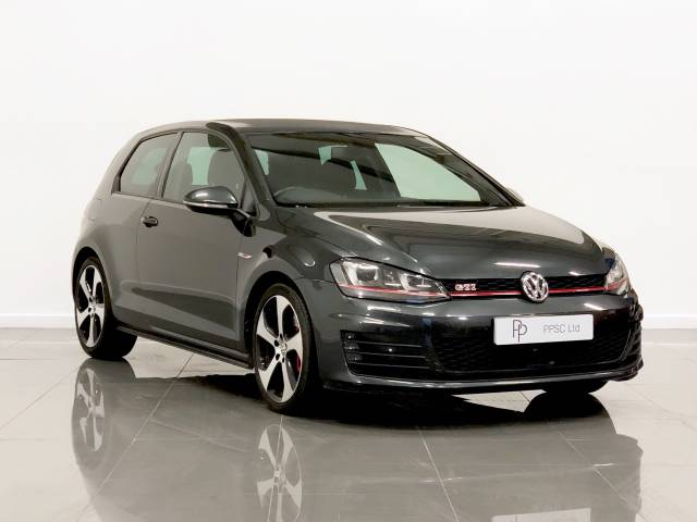 Volkswagen Golf 2.0 TSI GTI 3dr [Performance Pack] Hatchback Petrol Grey at Phil Presswood Specialist Cars Brigg