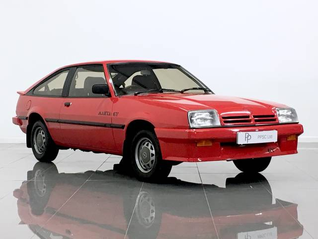 Opel Manta 1.8 GT Hatchback Petrol Camelian Red at Phil Presswood Specialist Cars Brigg